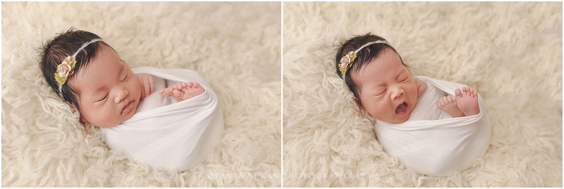 Newborn session lily 1 month old jersey city newborn photographer tanya buran photography
