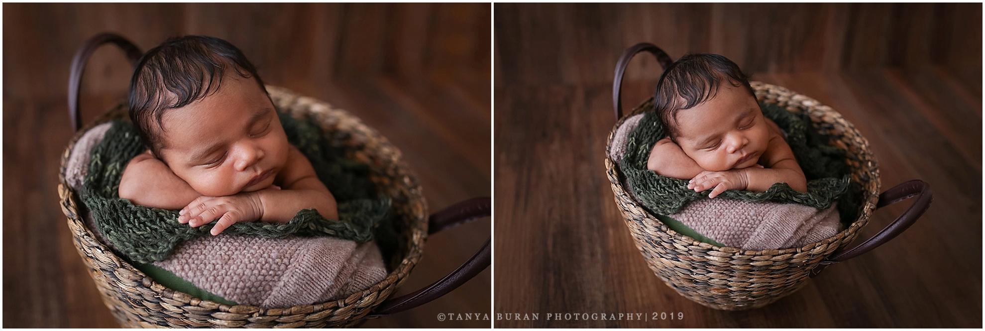 Newborn session aiden 4 weeks old jersey city newborn photographer tanya buran photography